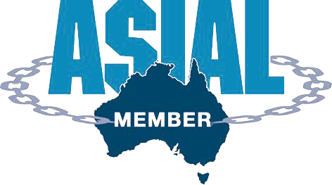 ASIAL logo and webpage link